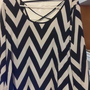 Tops - Chevron shirt